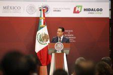 Omar Fayad y sus logros en Hidalgo, ignorados por candidatos priistas