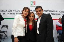 María Luisa Pérez Perusquía y Julio Valera, las cartas fuertes del PRI