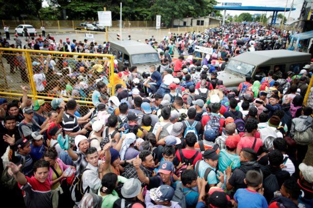 , Matices de la caravana de migrantes