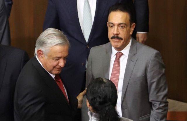 Andrés Manuel López Obrador y Omar Fayad Meneses.